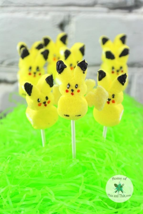 DIY Peep A Chu! A fun and easy DIY Pikachu project!