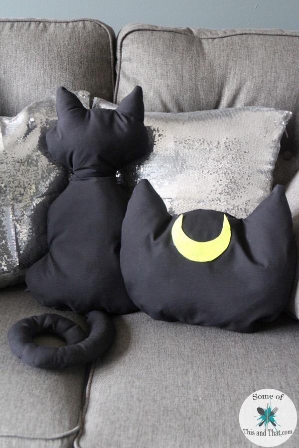 diy luna pillow | diy cat pillows! - some of this and that Diy Pillow