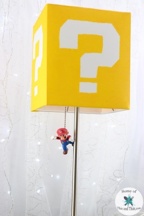 DIY Mario Lamp! Nerdy Crafts!