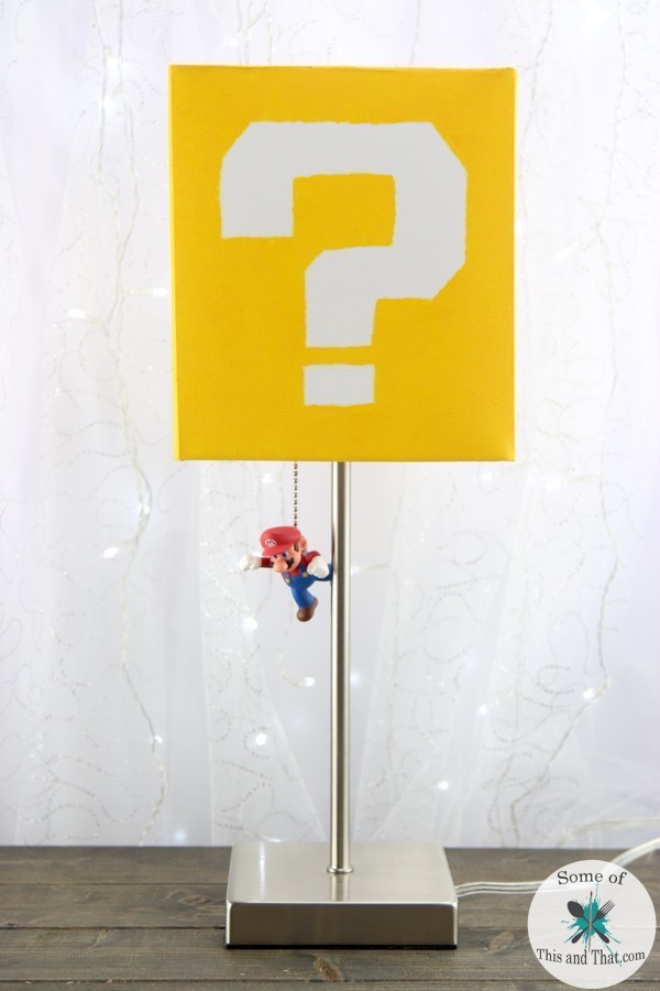 DIY Mario Lamp! Nerdy Crafts!