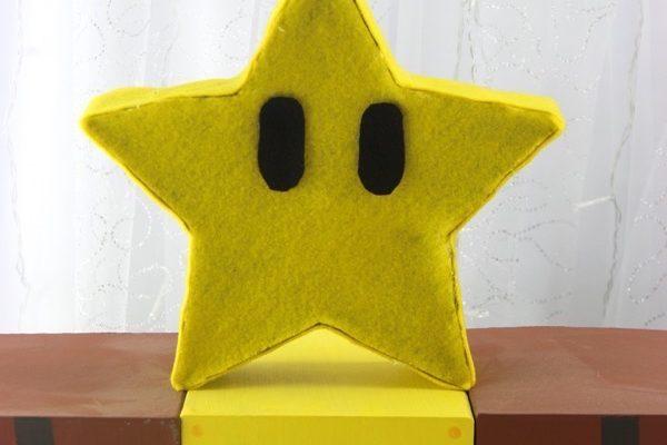 DIY Mario Star Lamp   Nerdy Crafts!