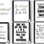 Free Inspirational Printables! Office Printables!