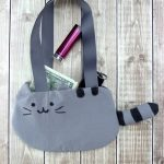 DIY Pusheen Purse!