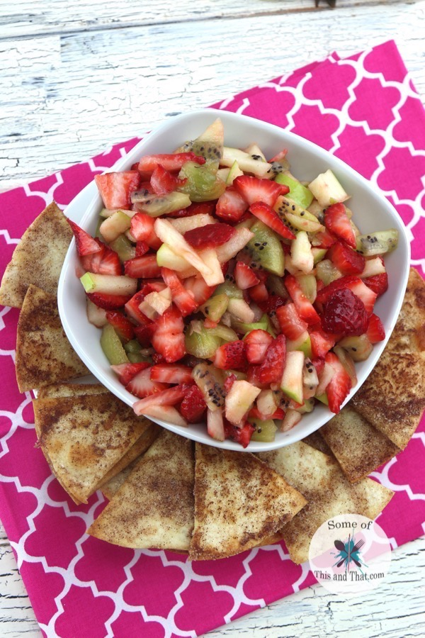 Fruit Salsa Recipe! An easy and yummy summer recipe!