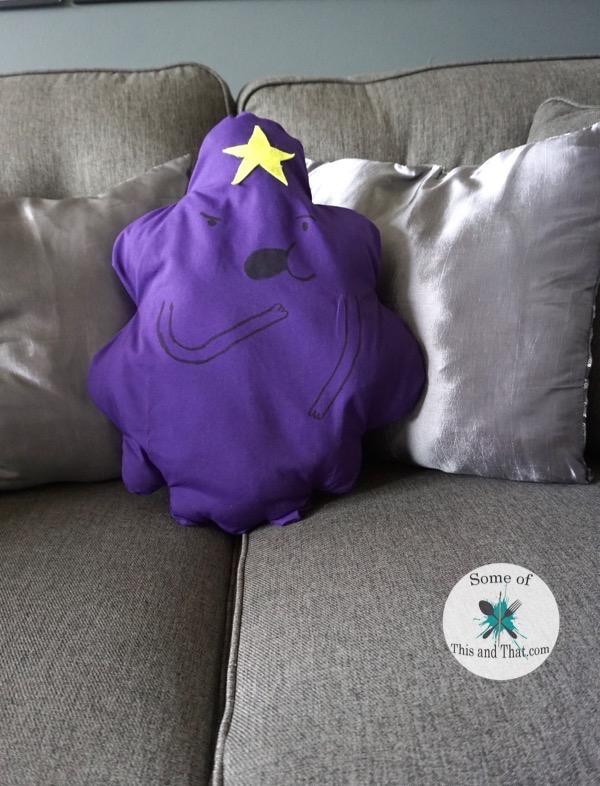 DIY Lumpy Space Princess Pillow!