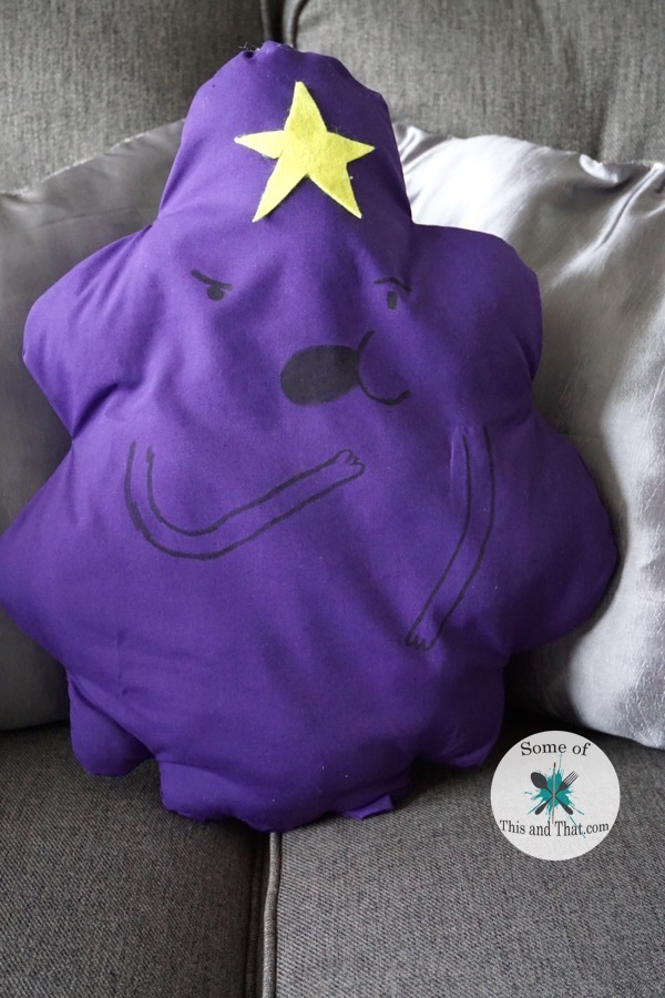 Lumpy Space Princess Pillow1