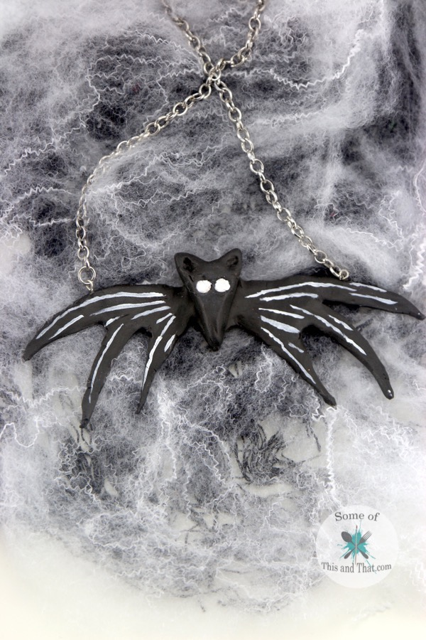 DIY Jack Skellington Necklace