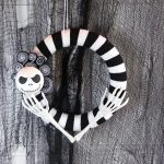 DIY Nightmare Before Christmas Wreath
