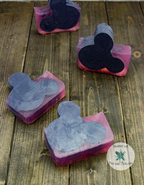 DIY Mickey Mouse Soap!