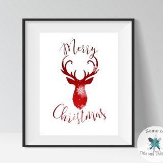 Free Holiday Printables!
