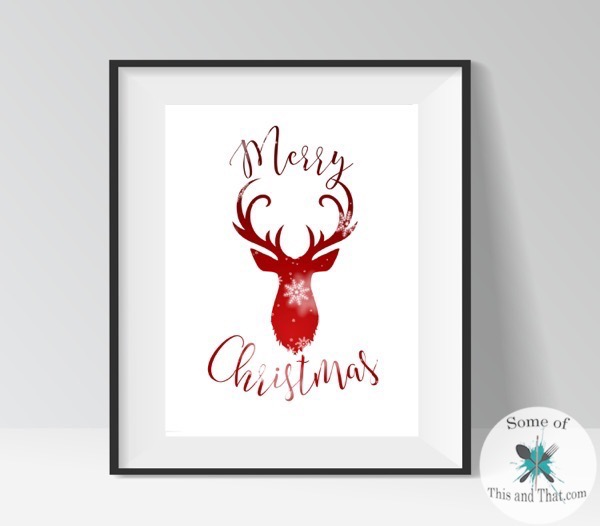 Free Holiday Printables! 3 to Choose From!