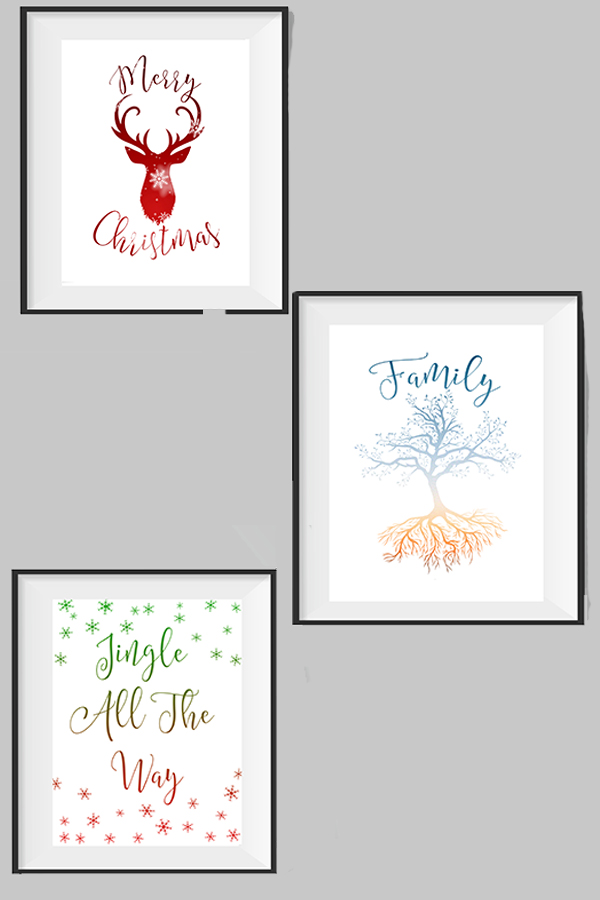 Free Holiday Printables!