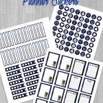 Free Planner Stickers Bobba Fett Style