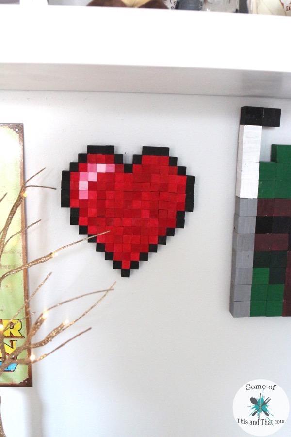 DIY 8-bit Heart
