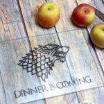 DIY Game of Thrones Cutting Board