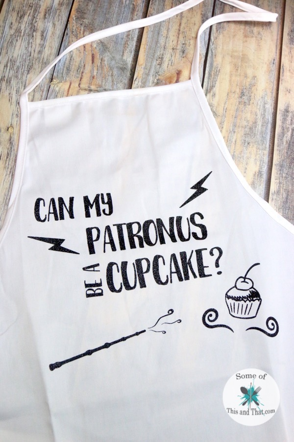DIY Harry Potter Apron!