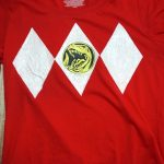 DIY Power Rangers Shirt!