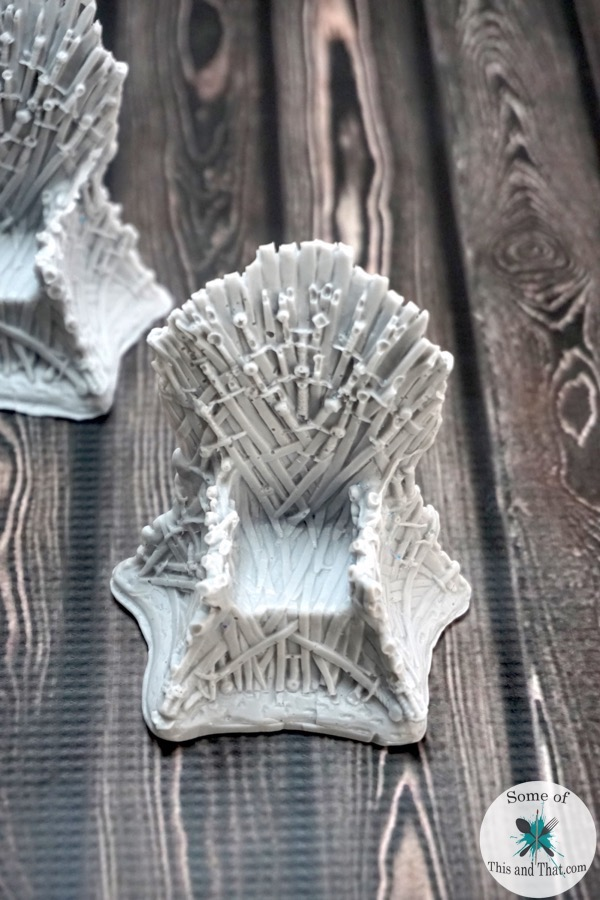 DIY Game of Thrones Iron Throne Soap!