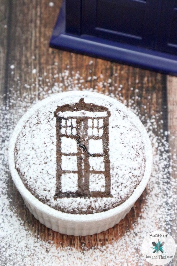 Doctor Who Chocolate Souffle Recipe!