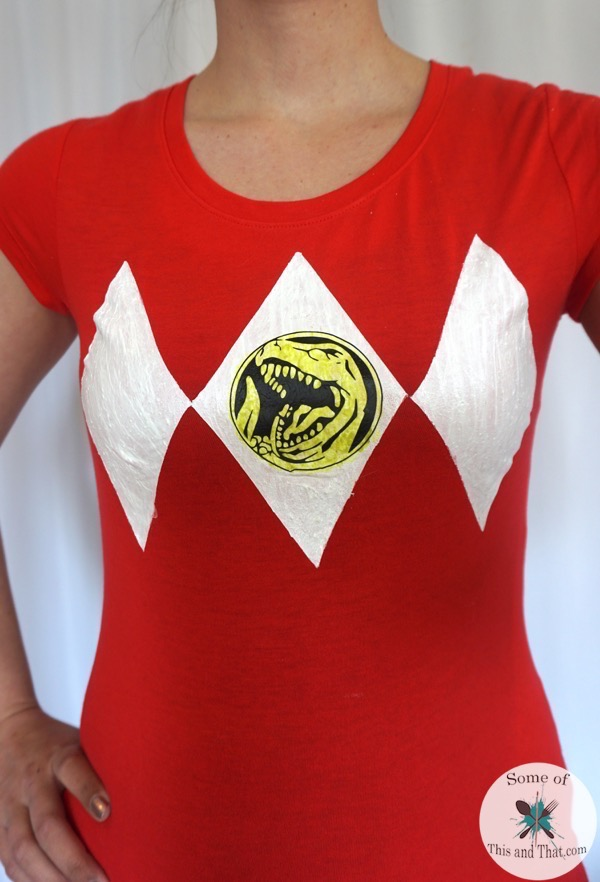 Diy Power Rangers Shirt Some Of This And That