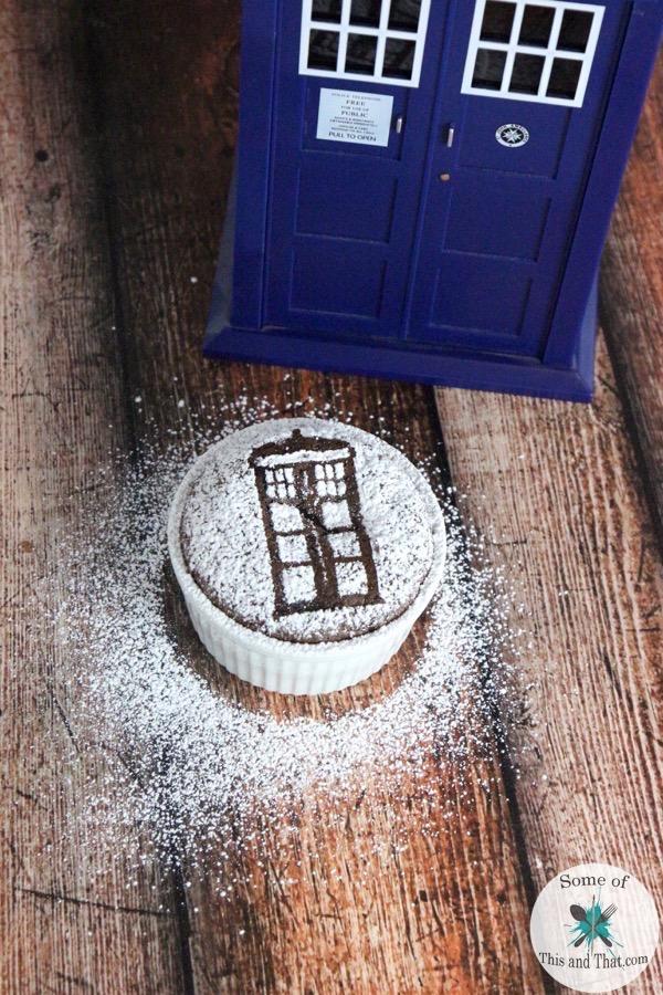 Doctor Who Chocolate Souffle Recipe!
