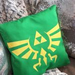 DIY Legend of Zelda Pillow! No Sew!