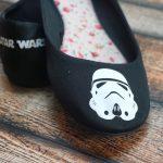 DIY Star Wars Shoes!