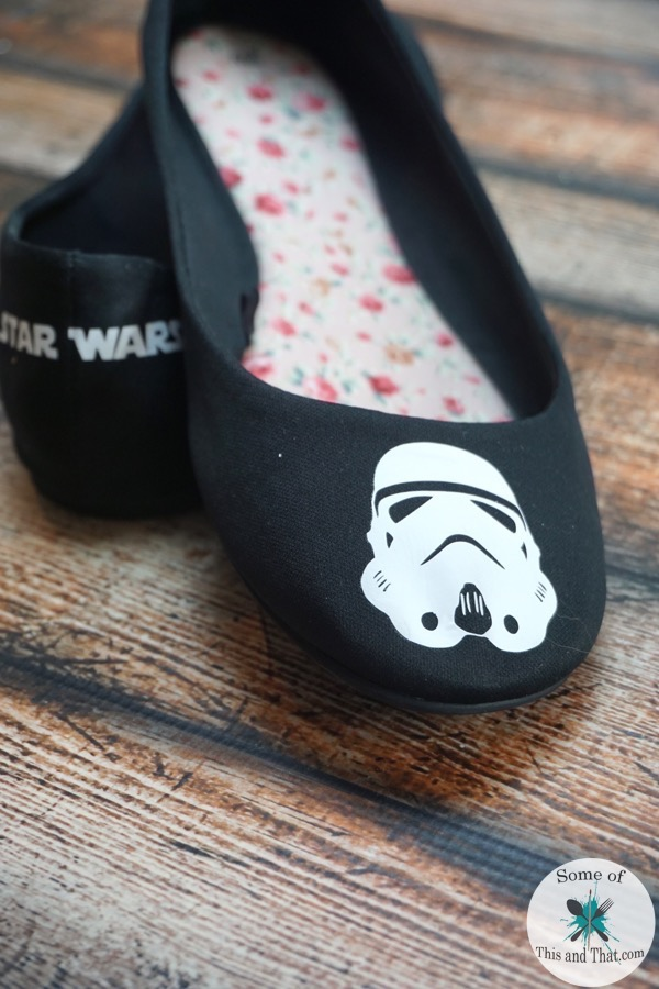 DIY Star Wars Shoes!