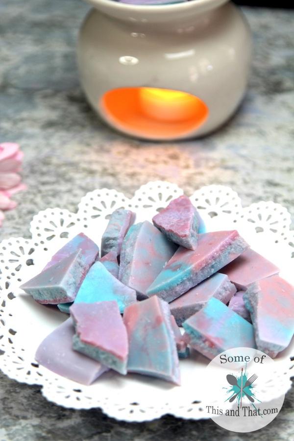 DIY Unicorn Wax Melts