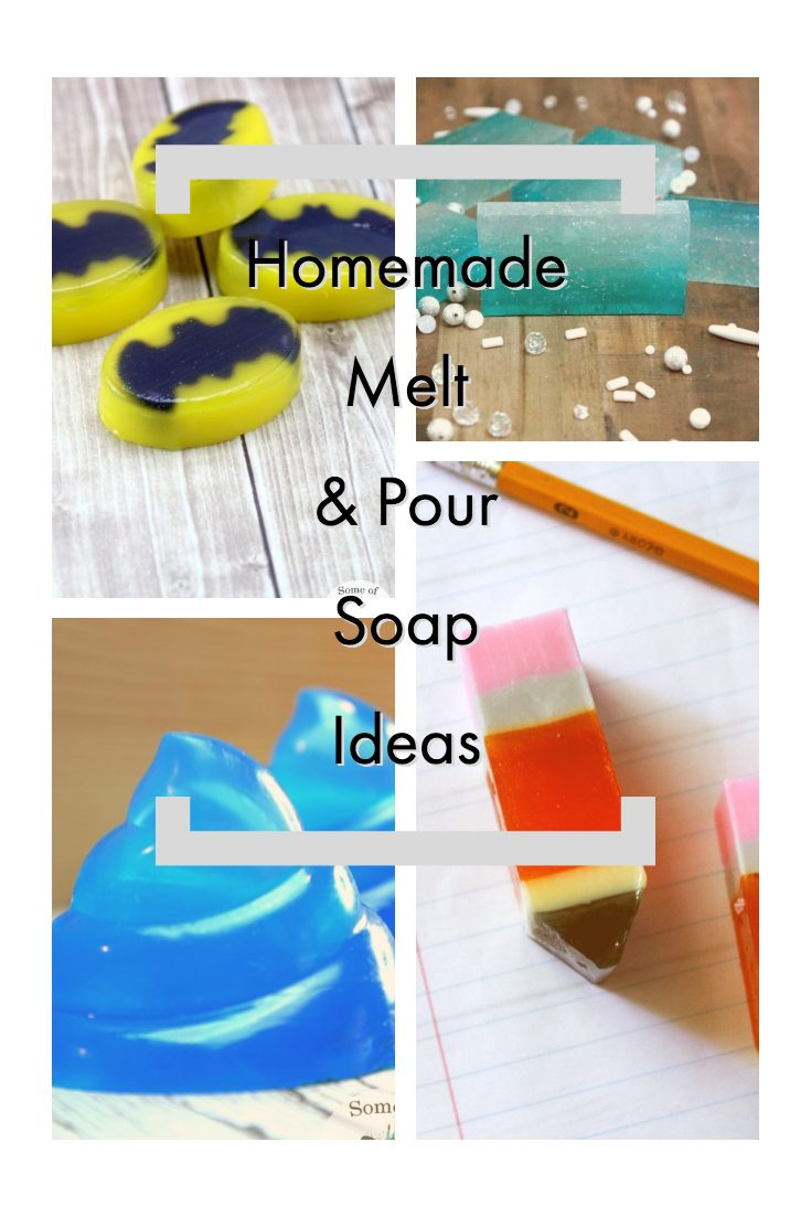 Homemade Melt and Pour Soap Ideas