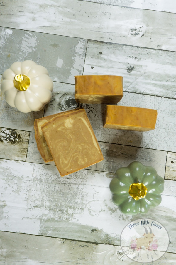 DIY Pumpkin Spice Latte Soap