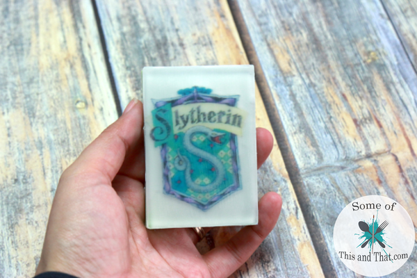 DIY Harry Potter Soaps! A simple and fun Homemade Gift Idea for the Potter Head!