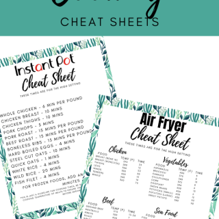 Free Cooking Cheat Sheets Printable